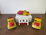 (3) Vintage Revell Service Trucks