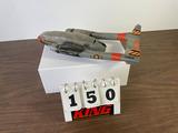 Vintage Plastic US Air Force Model Airplane