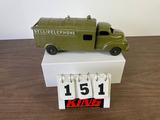 Hubley Kiddie Toy No. 504 Metal Bell Telephone