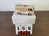 Vintage MAR Toys Tin Ambulance Toy