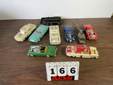 (7 count) Plastic Model Cars