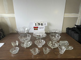 Lot of Misc. Glassware - Approx. (18) Pcs.