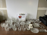 Lot of Asst'd. Glassware - Approx. (85) Pcs.