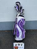 Finesse Golf Bag & Clubs