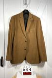 Flynt Men's Brown Corduroy Cotton Sportcoat Med