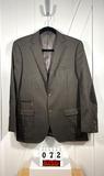 Patrick James Men's Black Wool Sportcoat, Med.