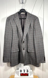Hunter & Coggins Men's Gray Wool Sportcoat Med
