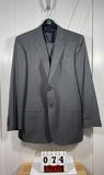 Jos. A Bank Men's Gray Suit 43L Includes Vest