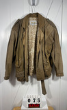 Limited Express Men's Brown Leather Jacket L