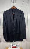 Ralph Lauren Men's Black Wool Sportcoat 44L