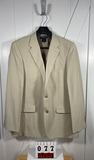 Saddlebred Men's Tan Polyester Sportcoat 44L