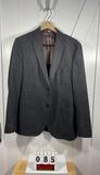 JKT New York Men's Gray Wool/Cotton Sportcoat