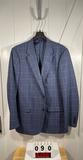 Alan Flusser Men's Blue Sportcoat 44L