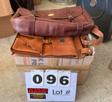 (3) Leather Satchel-Type Bags