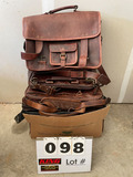 (10) Leather Bags - Misc. Briefcase & Satchels