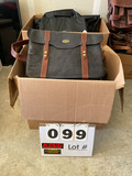 (12) Asst'd. Leather Satchels & Briefcases