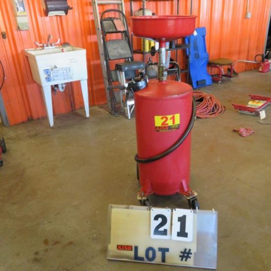20-Gal. Oil Drain Tank