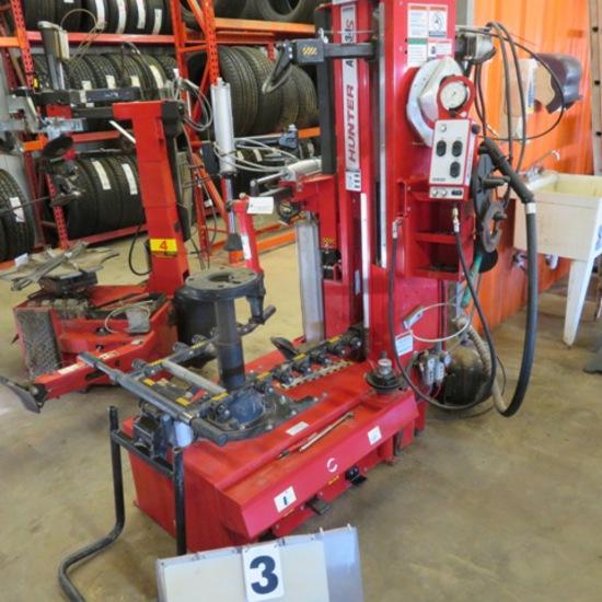 Hunter Auto 34S Tire Machine