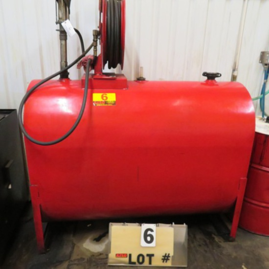 Waste Oil Tank, 275-Gal.
