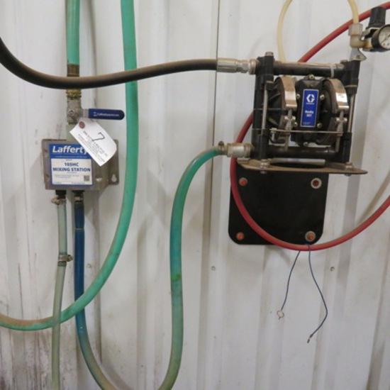 Lafferty 105HC Mixing Station