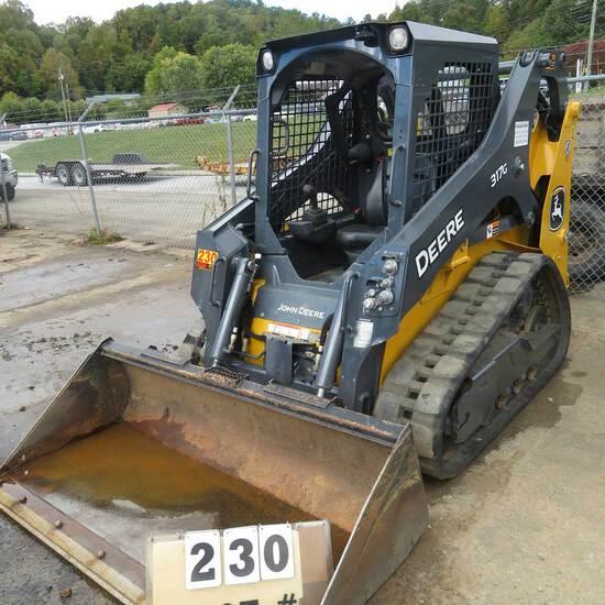 John Deere 317G Skidsteer , 2020 Model w/GP Bucket, 390 Hrs., S/N 1T0317GJYLJ388298