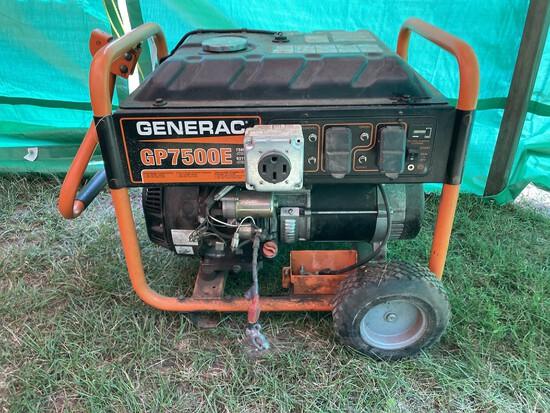 Generac Gp7500 Watt Generator