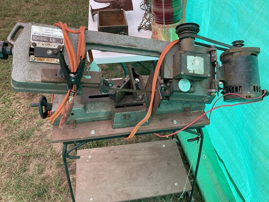 Metal Band Saw W/stand