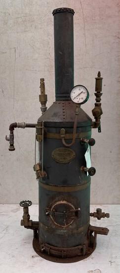 Stockton & Sons Steam Boiler (ann Arbor, Mi)