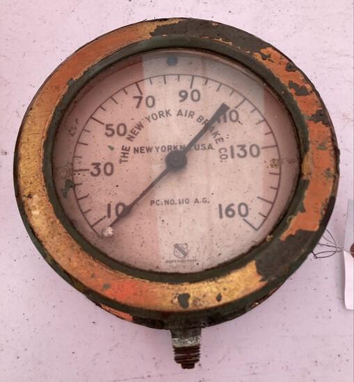 New York & Taper Pump Co. Pressure Gauges