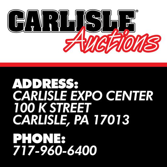 Fall Carlisle Collector Car Auction – Day 1
