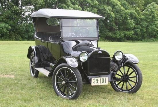 1917 Chevrolet Model 490 Roadster. Older restoration that still looks great