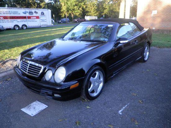 2000 Mercedes-Benz CLK430 Convertible.V8 automatic.All original. NO RESERVE