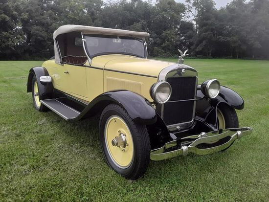 1926 Wills St Clair Roadster. Rare automobile. Restored in the late 1990's.
