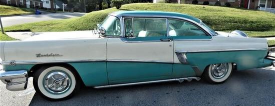 1956 Mercury Montclair 2 Door Hardtop Coupe. Older full restoration. Newer