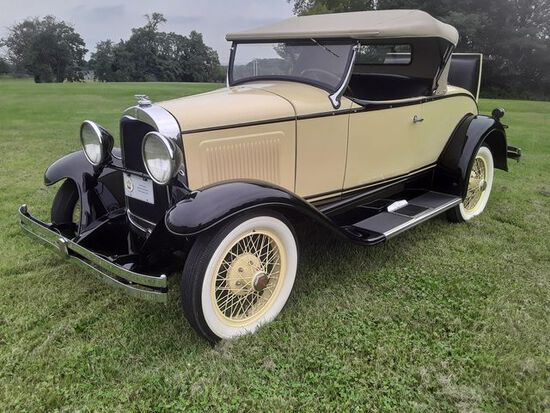 1929 Whippet 96A Roadster. Older restoration that looks great. Runs and dri