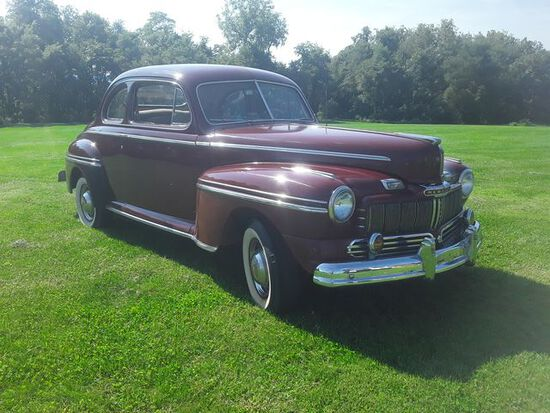 1946 Mercury Custom Coupe. In storage since 1991. Runs and drives good. Sol