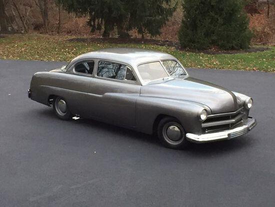 1949 Mercury Custom Coupe. Flathead V8, 3 speed on column. South American H