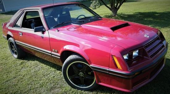 1982 Ford Mustang GT Hatchback Coupe.Freshly restored.TRX handling package.