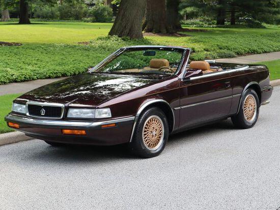1989 Chrysler TC by Maserati Convertible.13,000 MILE unrestored gem.Rare ro