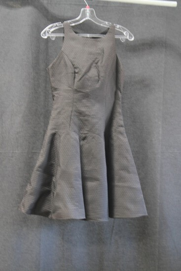 Macduggal Black Sleeveless Mini Dress Size: 6