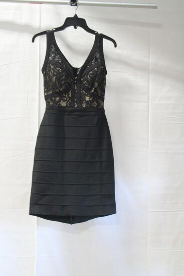 Alyce Black Mini Dress Size: 2