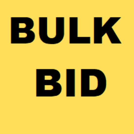 BULK BID - ALL LOTS