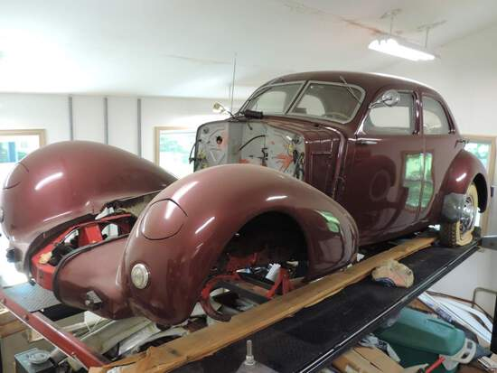 """1936 Cord 810 """"Westchester"""""""