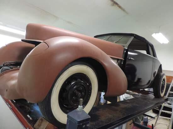 1937 Cord 812 Convertible Coupe