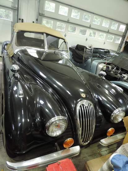 1981 Jaguar Body Kit car
