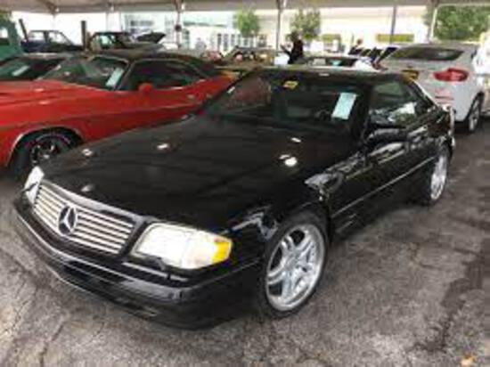 1996 Mercedes Benz SL500