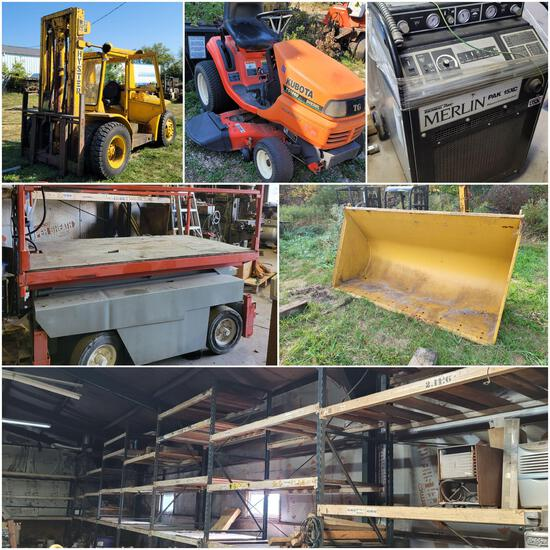 Commercial Machinery, Welding, Machining