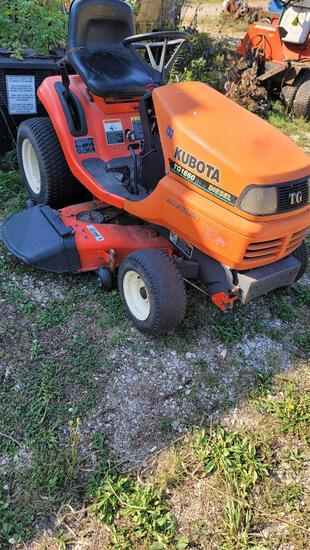 Kubota Diesel Lawn Tractor