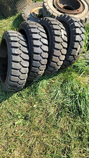 21 x 6 x 15 Forklift Tires New