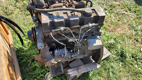 Clark Forklift Motor